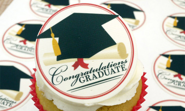 Graduation Photo Cake Toppers