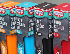 Dr. Oetker Food Colour Gels