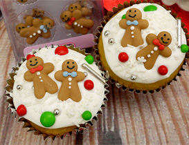 Christmas Cake Decorations - Icing & Handmade
