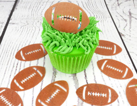 Rugby Cake Decorations