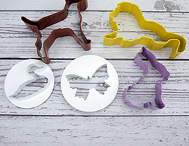 Animal Cookie Icing Cutters