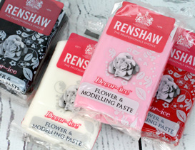 Renshaw & Dr Oetker Sugarpaste, Roll Out Icing for cake decorating