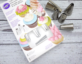 Cupcake Piping Sets, Tubes & Accessories