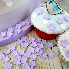 Lilac Icing Forget-Me-Nots