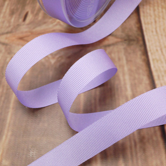 Lilac Grosgrain Ribbon (25mm)