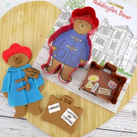Set Of 2 Paddington Bear Cookie Cutters