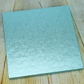 Pale Blue Square Cake Drum (Cake Board)