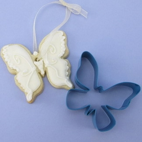 Blue Metal Butterfly Cutter