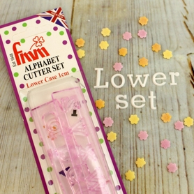 Fmm Alphabet Lower Case Cutter Set