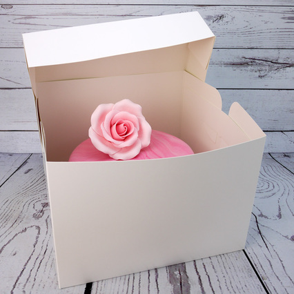 11 Inch White Deep Standard Cake Box
