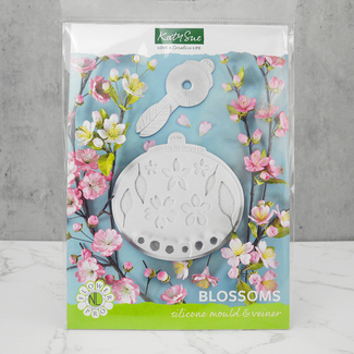 Katy Sue 'Blossoms' Silicone Mould And Veiner Set