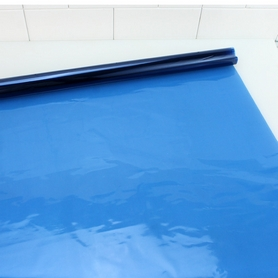 5M Roll Of Cellophane Blue Wrap