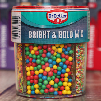 Dr.Oetker Bright And Bold Sprinkles Mix