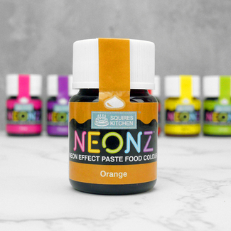 Squires Kitchen Neonz Orange Food Colour