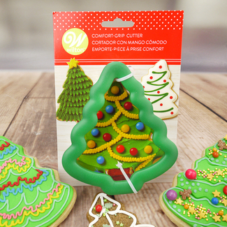 Wilton Christmas Tree Comfort-Grip Cutter