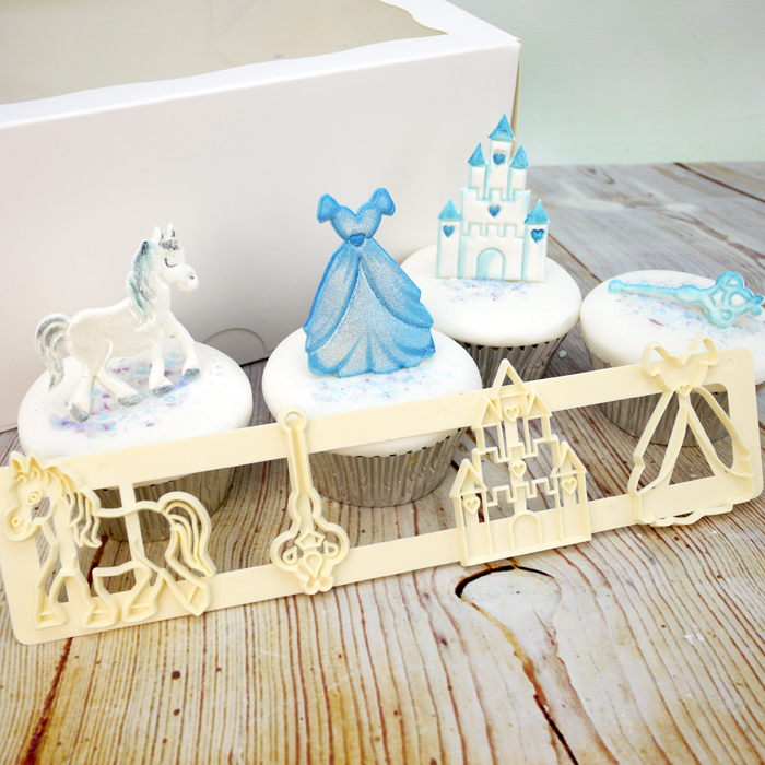 Cake Decorating Kit Of The Month : Fmm Fairytale Motifs Cutter Set
