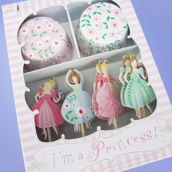 'I'm a Princess!' Cupcake Cases & Toppers