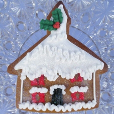 White Plastic Gingerbread House/Church Cutter