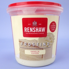 400g Tub Of Renshaw Vanilla Flavour Frosting