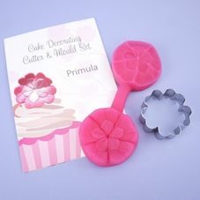 Blossom Sugar Art Primula Cutter & Mould