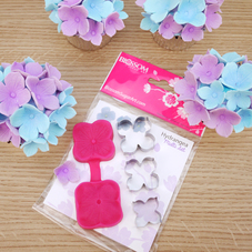 Blossom Sugar Art Hydrangea Multi Cutter And Mould Set
