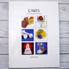 Cakes From Concept To Creation Book By Kathy Moore - image 1