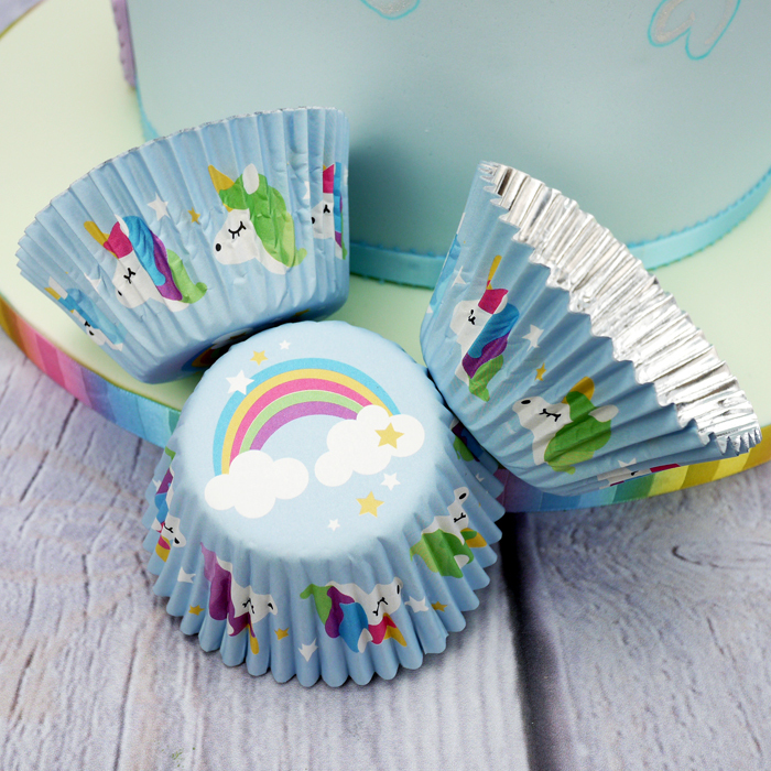 Unicorn Cupcake Cases (Pack Of 24)