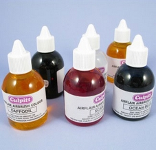Set Of 6 Primary Airbrush Colours