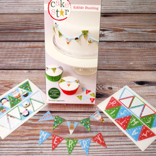 Cake Star 'Cute' Edible Bunting 28 Pc.(Boxed)