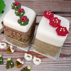 CCW Assorted Flat Icing Christmas Decorations