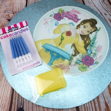 Beauty And The Beast Cake Decoration Set (B)