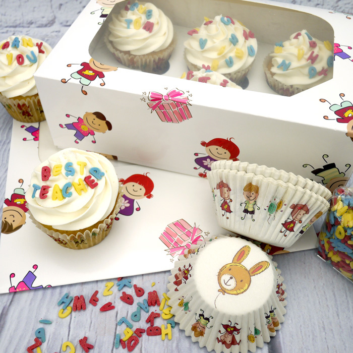 'End Of Term' Cupcake Kit - image 1