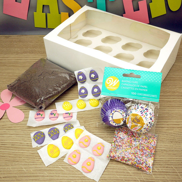 Easter Egg Mini Cupcake Kit