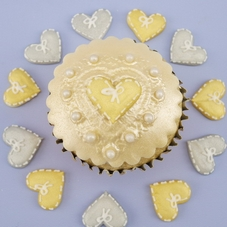 Gold & Silver Cupcake Celebration Set