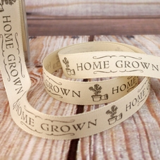 'Home Grown' Cream Ribbon - image 1