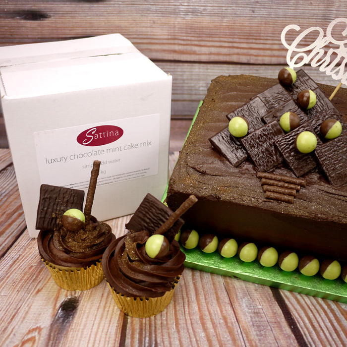 1Kg Luxury Chocolate Mint Cake Mix
