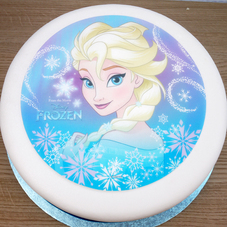 Elsa (From Disney's Frozen) Wafer Plaque