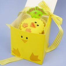 Easter Chick Treat Box