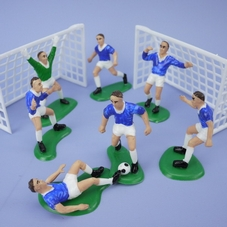 Blue Footballers Set
