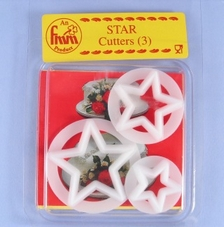 Fmm Set Of 3 Star Cutters