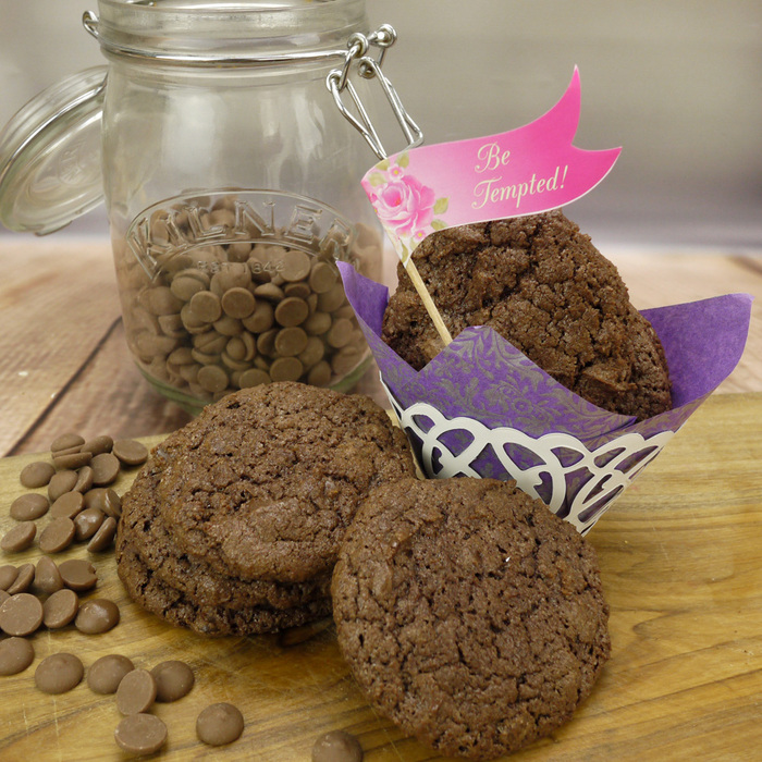 Divine Double Chocolate Chip Cookie Mix