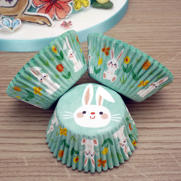 Wilton Pack Of 75 Bunny Cupcake Cases