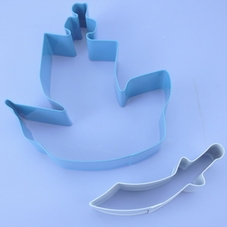 Pirate Ship And Sword Cookie Cutters Set