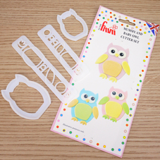 Fmm Mummy & Baby Owl Cutter Set