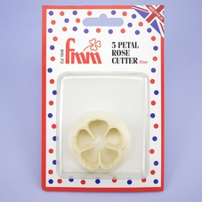 Fmm 5 Petal Rose Cutter 35mm