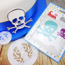 FMM Skull & Crossbones Cutter Set