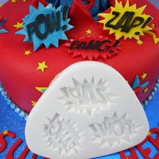Zap Pow Bang Silicone Mould