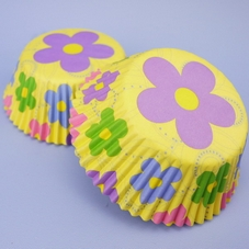 Dancing Daisy Flower Cupcake Cases