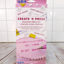 PME Create n Press Message Press Set