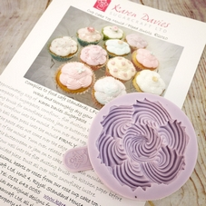 Karen Davies Piped Swirl Cupcake Mould